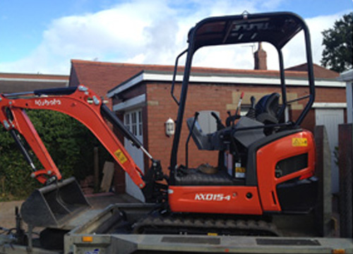 Digger For Hire in Barnsley