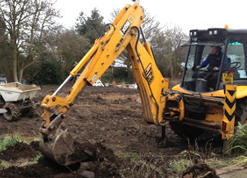 JCB 3CX For Hire in Barnsley