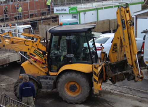 JCB Digger For Hire in Barnsley