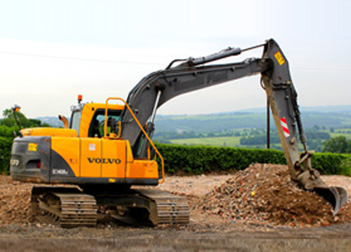 Volvo Hydraulic Excavator for Hire in Barnsley